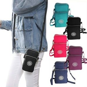 Mini CrossBody Cell Phone Wallet Pouch Bag Purse